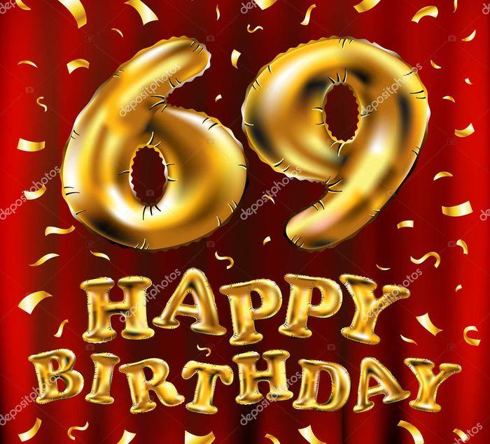 Поздравления с 69 летием мужчине открытки