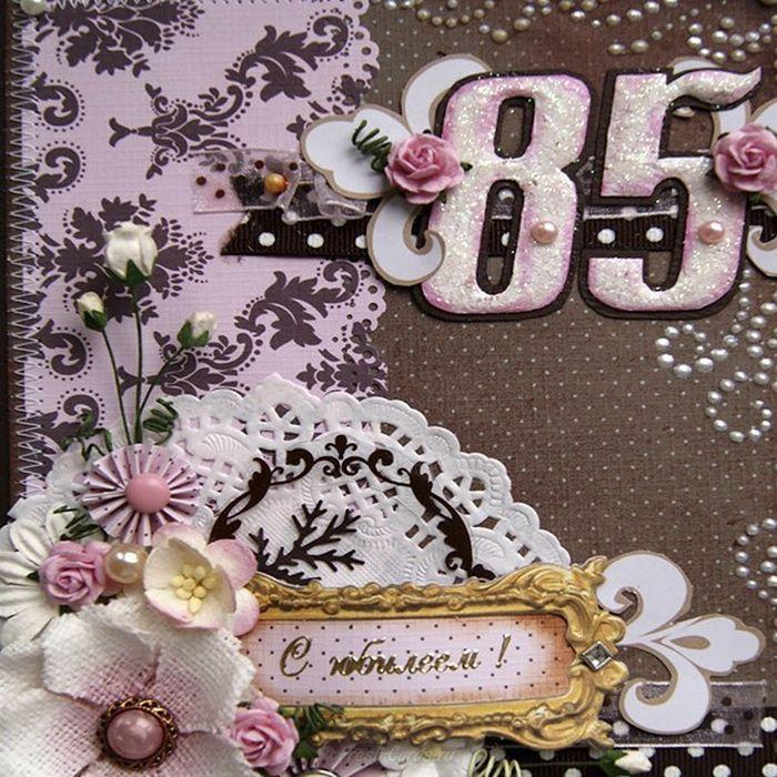 Новым годом, открытки с юбилеем 85 женщине