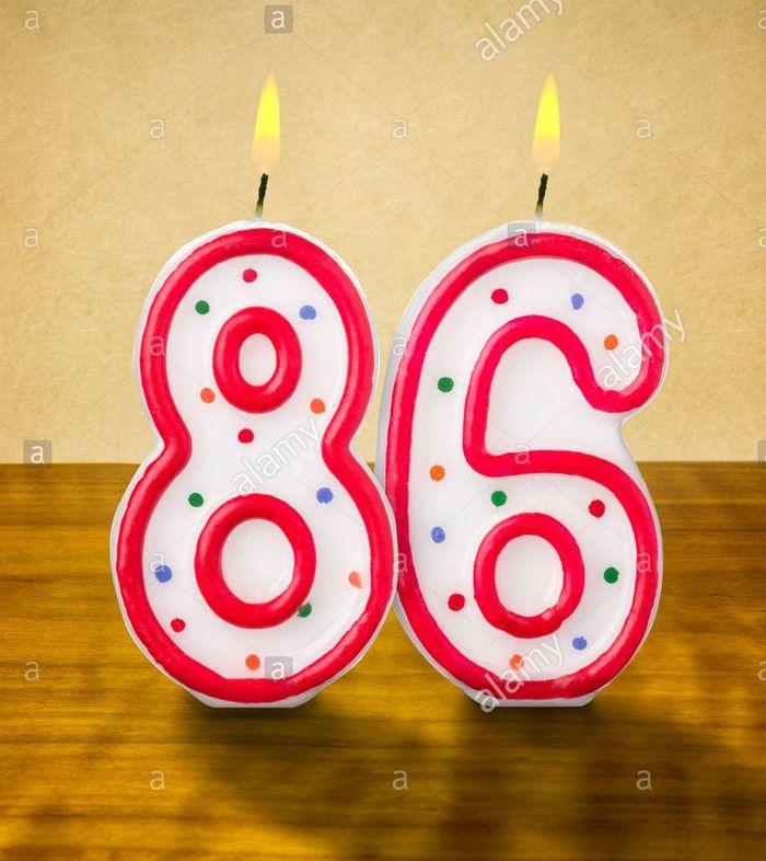 Поздравление для 86 летием