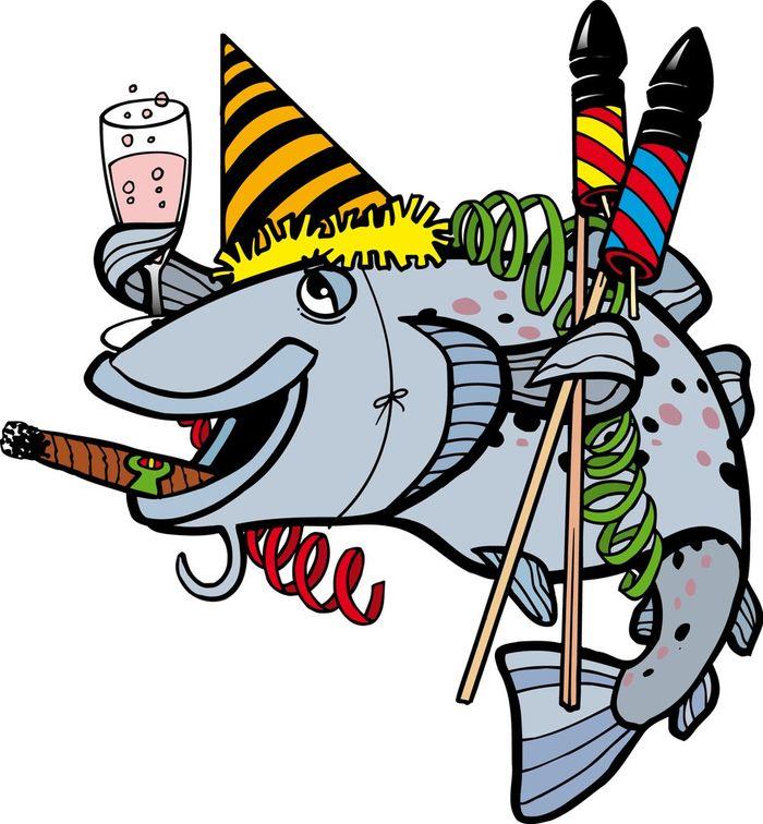 Картинки с днем рождения мужчине с рыбалкой