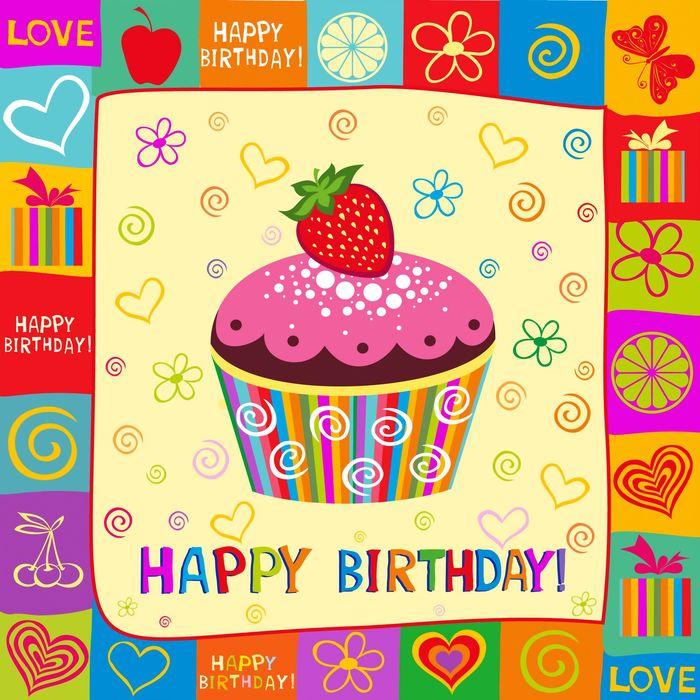 Своими, открытка с днем рождения поздравление на английском